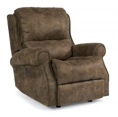 Living Rooms Vintage Autumn Swivel Recliner Living Rooms