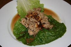 Chicken Lettuce Wraps CrockPot Recipe on Yummly