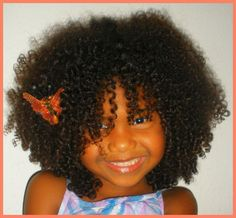 Look at this little cutie! Precious Curls | A Natural Hairspiration Gallery. Natural hair kids, little girls.