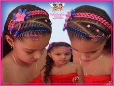 Resultado de imagen para peinados con cintas para cabello corto niñas Little Girl Hairstyles, Cool Hairstyles, Toddler Hairstyles, Up Styles, Long Hair Styles, Braids For Kids, Little Girls, Style Me, Instagram Posts