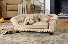 Das Haustier will immer auf das Sofa? Warum nicht direkt ein eigenes für den Liebling kaufen? Weich und bequem ist dieses moderne Sofa Dreamcatcher aus dem Hause Texstar.