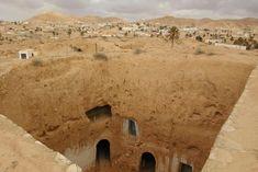 World's Beautiful Landscapes.: Matmata, Troglodyte Houses in Tunisia