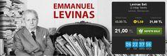 Günün Fırsatı: %50 İNDİRİM!  Levinas Seti (2 Kitap Takım) Levinas, Bernasconi Pinhan Yayıncılık  http://www.hesapkitap.com/levinas-seti.html