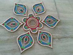 Welcome colorful Rangoli at a fare price