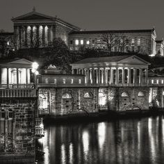 Haute in Philadelphia / karen cox. Philadelphia Art Museum and Water Works by Michael Penn Street Photography