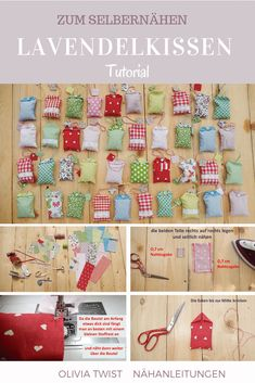 Sew lavender bags yourself - an absolute beginner project! - Sew lavender bags yourself – an absolute beginner project! Lavender bags are a wonderful idea to - Diy Gifts For Kids, Gifts For Girls, Small Gifts, Craft Gifts, Lavender Bags, Lavender Sachets, Fabric Crafts, Sewing Crafts, Sewing Projects