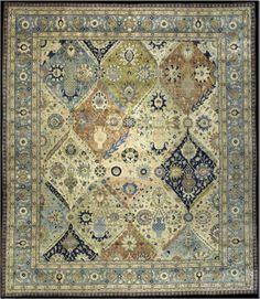 A Persian Tabriz Rug BB3375 - by Doris Leslie Blau.  A Persian Tabriz Rug (sold).