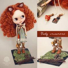Rusty - OOAK Blythe Doll