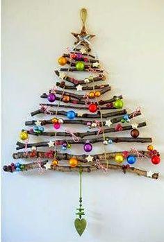 Casa - Decoração - Reciclados: DIY - Árvore de Natal Sustentável.