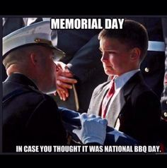 Look at this child's face...please pray for the children of fallen military.