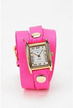La Mer Neon Wrap Watch  $98.00 - Cute