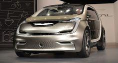 Chrysler Portal elektrische Minivan Konzept feiert Weltpremiere auf der CES 2017 CES Chrysler Chrysler Concepts Concepts Electric Vehicles New Cars