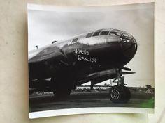 WWII original B-29 BOMBER  NOSE ART PHOTO MIASIS DRAGON / 313TH BW