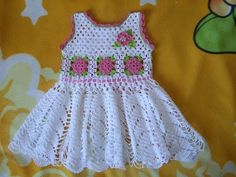 Como tejer fácil la mas linda ropa para niñas y bebes - Make crochet cute Knit for baby girls - YouTube