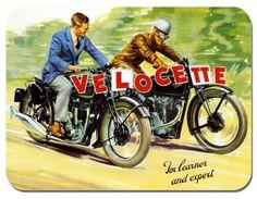 Velocette Vintage 1930's Ad
