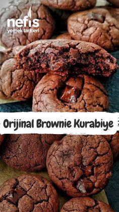 kişinin defterindeki bu… – Kurabiye – Las recetas más prácticas y fáciles Brownie Cookies, Brownies, Delicious Desserts, Yummy Food, Salad Sandwich, Shaped Cookie, Homemade Beauty Products, Shortbread, Quick Easy Meals