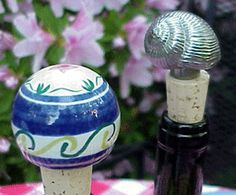 how to make decorative wine stoppers