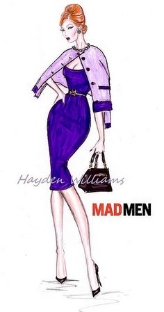 Hayden Williams for Mad Men collection: Design #4 by Fashion_Luva, via Flickr