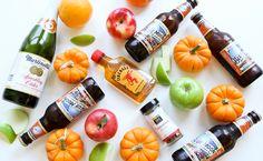 Pumpkin Spice Cocktail--Blue Moon Harvest Pumpkin Ale, Fireball Cinnamon Whiskey, and Sparkling Apple Cider