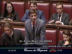"""Alessio Villarosa (M5S): """"Stop soldi pubblici per salvare i banchieri, M..."""