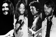 """We wanted them to stay together forever (like ALL bands DO now...) but we never counted on a thing called """"Photo Shop"""" as being able to rewrite history for us. :-) ... George Harrison Paul McCartney John Lennon Ringo Starr"""