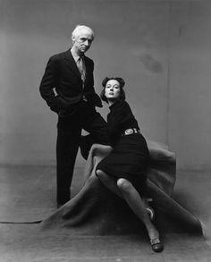 Irving Penn, Max Ernst et Dorothea Tanning, New York, 1947