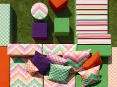The Macrocrochet outdoor collection from Missoni Home, 2013.
