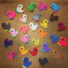 Chicks perler beads by ahc29901