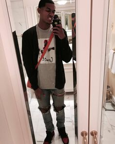 ed09fb6dfab0 Jordan Clarkson wearing Supreme Gucci Mane T-Shirt