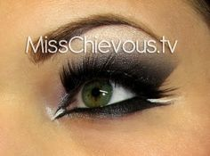 Love her YouTube tutorials so much!  Smokey eye, we love the mascara and eye liner!!