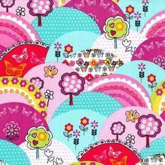 Michael Miller - Happy Hills - Sew Scrumptious Fabrics