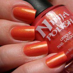 Ninja Polish ~ Pacific Coral (Enigma Collection)    Sassy Shelly