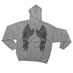 The Angel Wings Hoodie Sweatshirt for Mens & Womens - Wings On Your Back - Cool Angel Wings Hoodie - Liberty - Liberation - Hipster Paws Shirt, Dog Shirt, Angel Wings, Hush Hush, Best Friend Gifts, Hoodies, Sweatshirts, Diy Clothes, Hipster