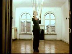 Rebecca Horn, Berlin, 1974, (West Berlin) #art #performance