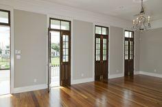 French doors - Southern Homes Renovation #nola #renovations #southern #homes