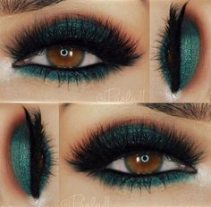 Green with envy over @paola.11's eye makeup look here! #Makeup