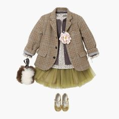 just plain cute! but love the layers and that added masculine piece with dainty pink flower ... layers!