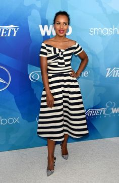 ed4f4e97234a Kerry Washington Photos - Actress Kerry Washington attends the WWD And  Variety inaugural stylemakers  event at Smashbox Studios on November 2015  in Culver ...