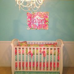 nursery idea...for years and years and years down the road