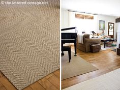 super-soft/sisal-look FLOR carpet tiles! Remember this for at the farm- thinking dining room and maybe school room... yay!