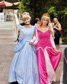 Cinderella & Aurora <3