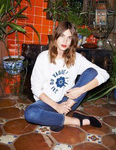 La 'it' girl Alexa Chung lanza una colección en colaboración con la famosa firma de denim
