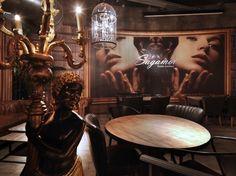 Sagamor lounge bar & restaurant by Andrea Langhi, Bergamo Italy restaurant lounge bar