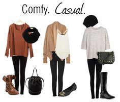 comfy and casual road trip outfits