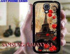 Samsung Galaxy S4 Hard or Rubber Case Paris by JustPhoneCases, $15.99