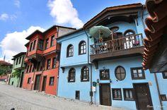 Old Turkish houses  / Odunpazari ,Eskisehir ,Turkey