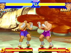 MFG: Sagat Street Fighter (Pots Gameplay)