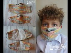 Mar 2020 & Crochet face mask with lining pattern child and adult sizes PDF i& Crochet Gratis, All Free Crochet, Diy Crochet, Crochet Hooks, Crochet Rugs, Filet Crochet, Crochet Mask, Crochet Faces, Half Double Crochet