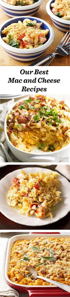 Creamy, yummy macaroni and cheese! Find new ways to make this favorite recipe: http://www.midwestliving.com/food/comfort/homemade-mac-and-cheese-recipes/