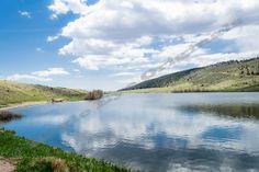 Spring Pond 2  Pond Landscape Natural by EagleEyeOriginals on Etsy, $30.00